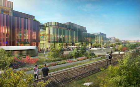 Výstavba nové olomoucké čtvrti Šantovka zahájena